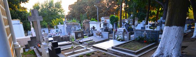 Interior del Cementerio