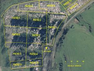 Mapa Cementerio Traiguen 2